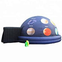 Oxford cloth portable inflatable planetarium projection dome tent for exhibition display props