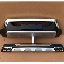 car bumper accessories Front & rear bumper kits fit for fortuner