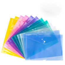 Clear Document+bag  Folder With SnapButton, Quality Poly Envelope Bag,US LETTER / A4 size Office supplies