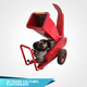 garden gas chipper shredder electric wood tree branches leaf crushing machine