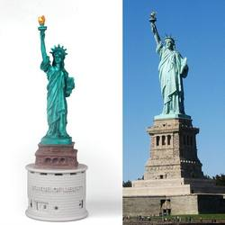 Statue of Liberty Shenzhen High quality OEM USA music,music box,instrument music