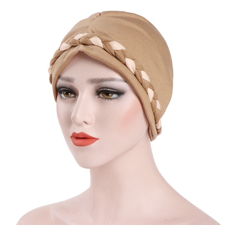 PROMOTIONAL ITEM New Hijab Bonnet Caps Ladies Turbans Polyester Cotton Head Turban For Women