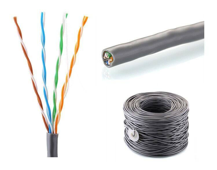 Cat5 Network Cable for Twisted Pair Cable 2 Pair UTP Cat5e Cable Price Per Meter