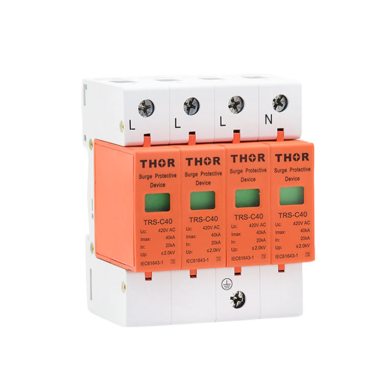 House surge protector under voltage protection device 40KA surge protections spd