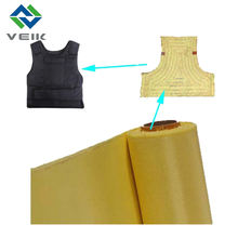 Aramid Fiber Cloth Plain Weave Fabric for Bulletproof Vest