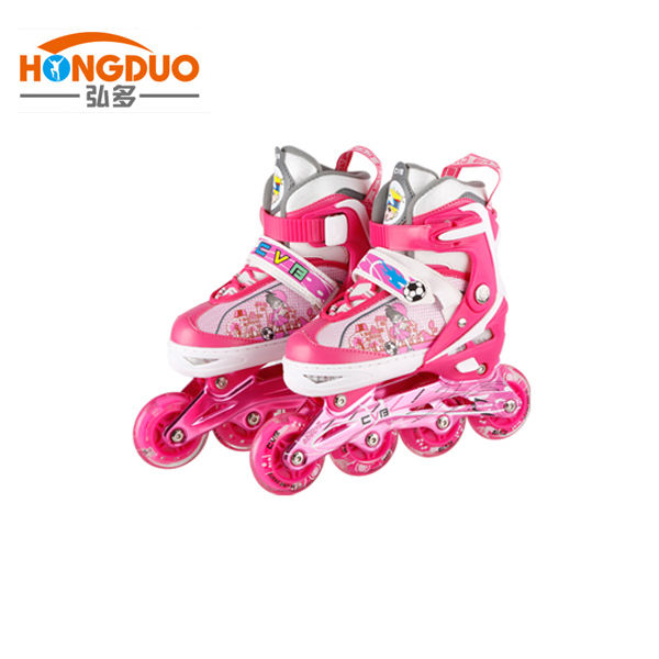 New style inline skating roller blading four wheel skates shoes for adult roller skates best price sale