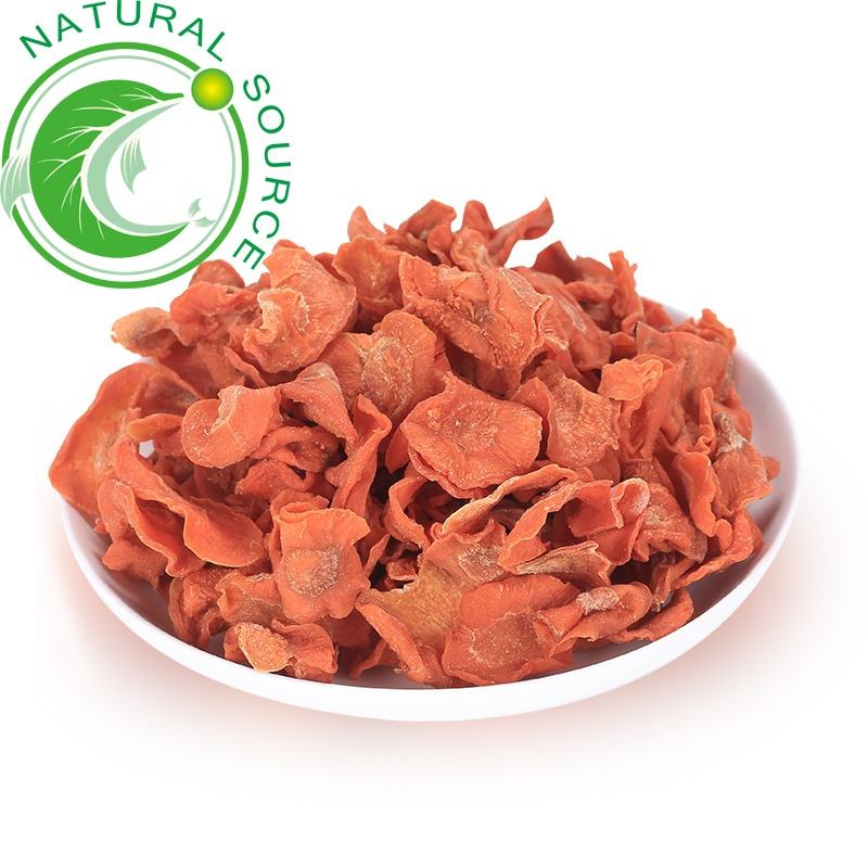 Wholesale Best Selling Cheap Price Dried Vegetable Dehydrated Carrot Flakes In Bulk