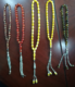 Wholesale smell 8mm 33 beads amber prayer beads rosary