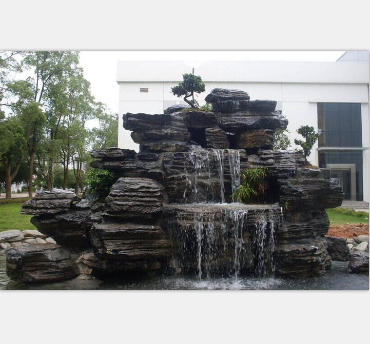 Vintage artificial rock fountains fake rock waterfall