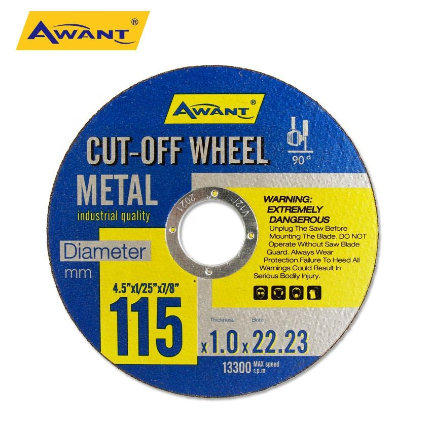 Cutting Disc 4 1/2 Metal 115mm Cutting Wheel Cut off Wheel Stainless Steel Cast