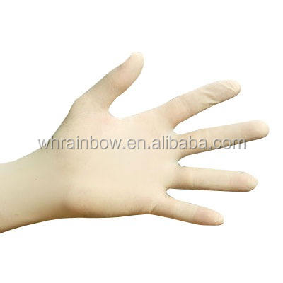 Chinese Supplies Disposable Medical Surgical Latex Glove