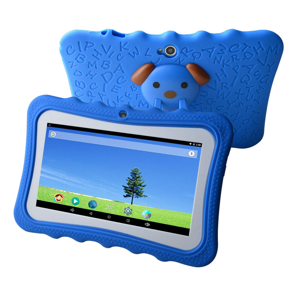 7 inch allwinner A33 521MB /1GB +16GB android 4.4 kids tablet pc children education app software tablet pc