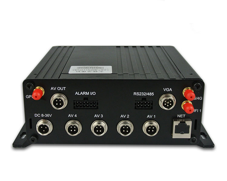 Best Price HDD 4 CH Mobile DVR Industrial Level 720P CCTV DVR With Wifi 4G GPS