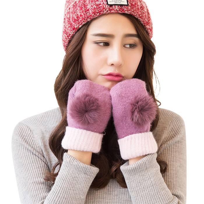 Зимние теплые перчатки в 2018 году