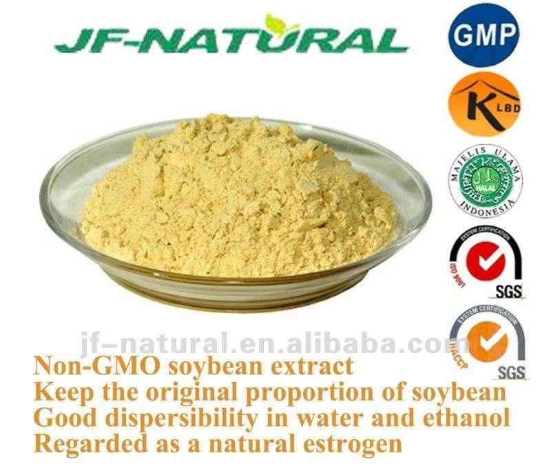 Manufactory de Extrato de Soja 40% 60% 80% Flavonas ISO