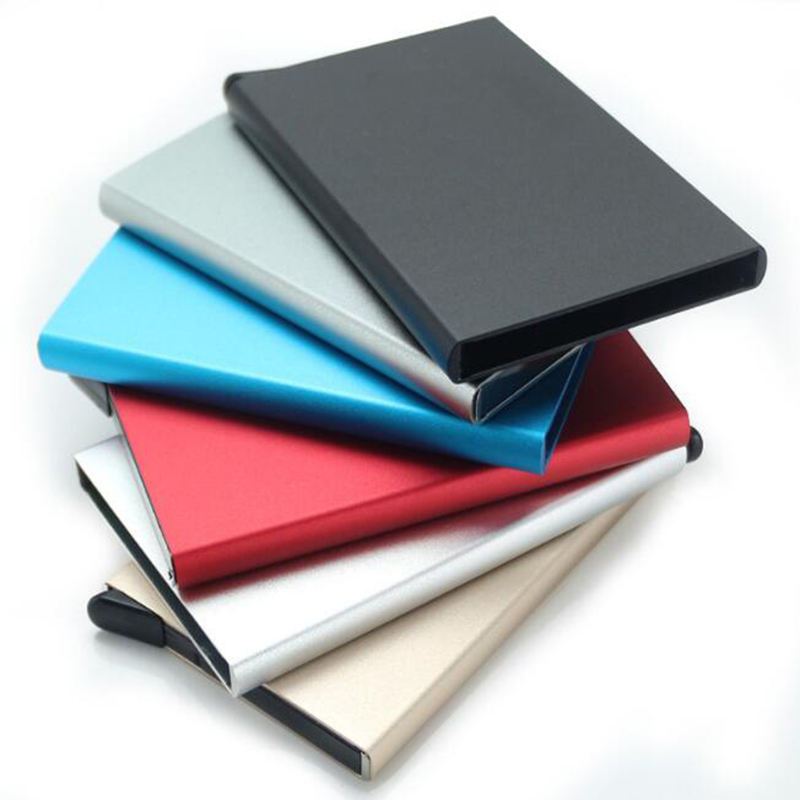 2019 Hot Selling Aluminum RFID Blocking Credit Card Holder