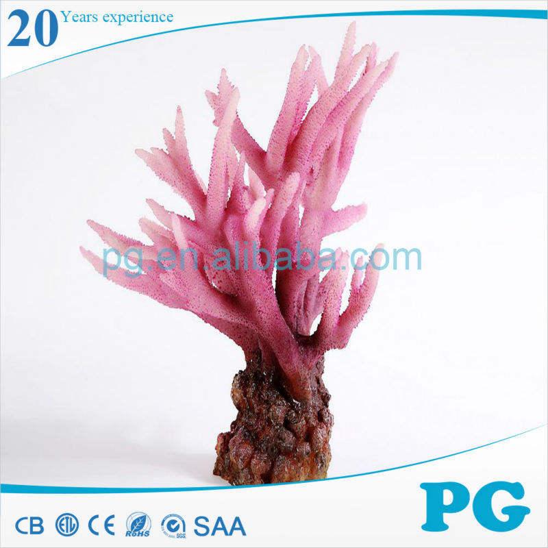 Pg costume Decor Coral Artificial Reef Aquarium acessórios