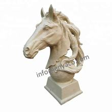 Large Animal Head Statues / Horse Head Sculptures