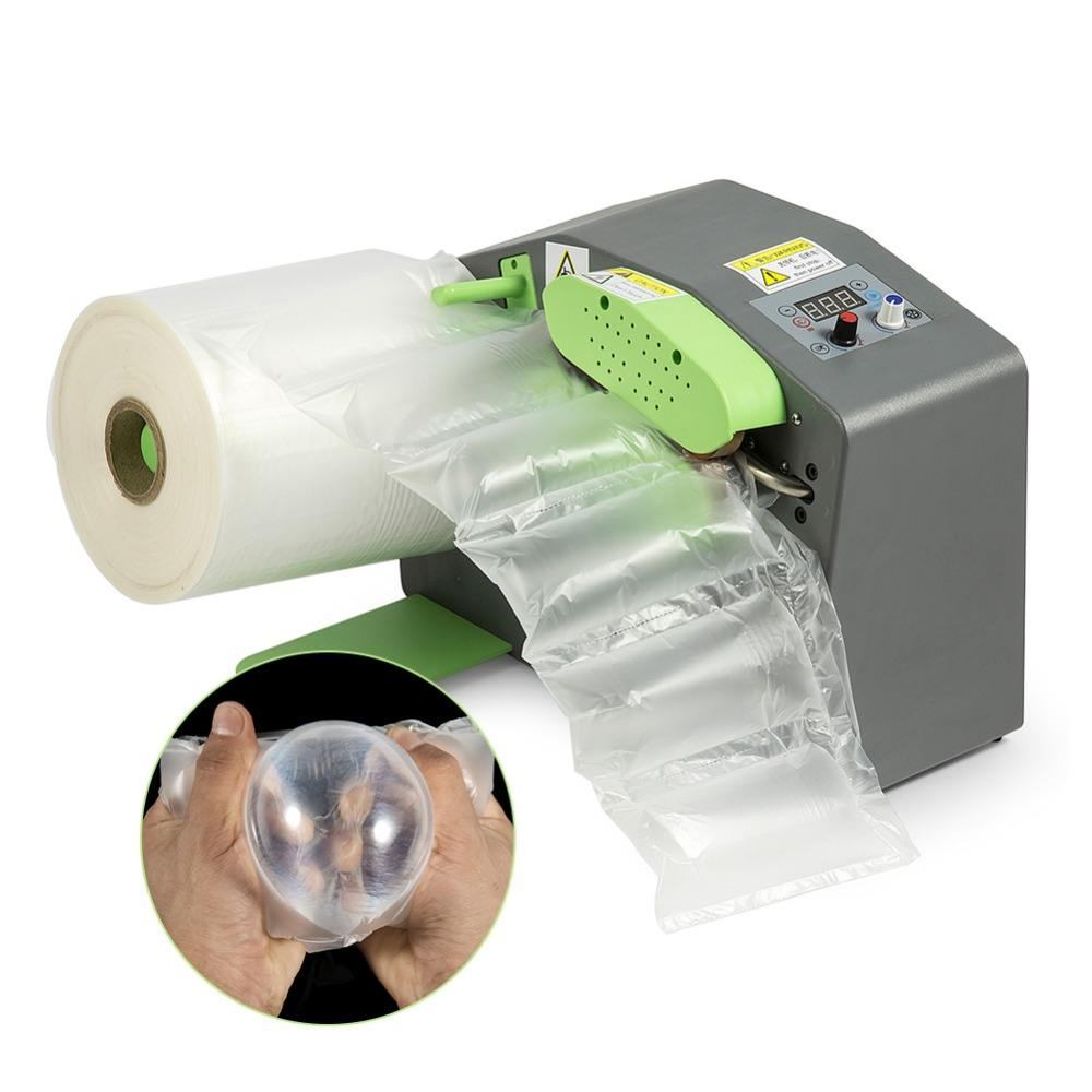 2020 QPACK Brevet Bulle D'air Film D'emballage Automatique Mini Machine de remplissage de Coussin D'air