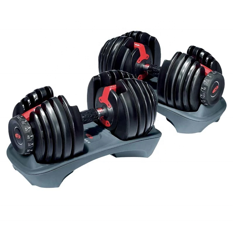 52.5LB Adjustable Dumbbell Set /Home Gym Equipment Adjustable Weight Set