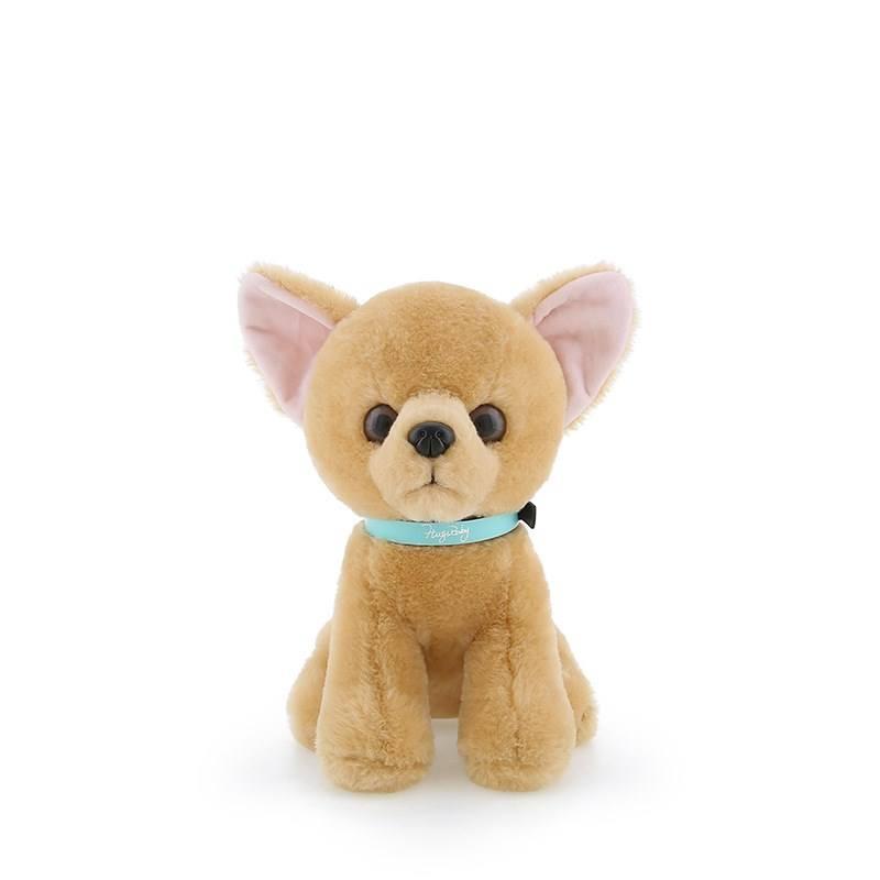 18 cm mềm thú nhồi bông Chihuahua dog toy doll plush mini búp bê đồ chơi chó