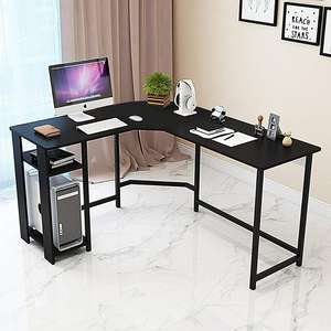 Factory Directly \ % Sale L 모양의 Office 메트 vintage Desk Computer 메트 vintage Desk 표 Personal Working Space Lapdesk 코너 Set 와 나무 Surface Board