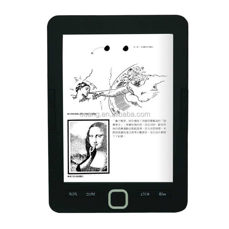 6 inch e-book with e ink screen by manufacturer