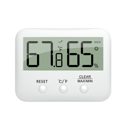 Digital LCD Thermometer Hygrometer Humidity Temperature Meter Indoor Centigrade/Fahrenheit with Comfort