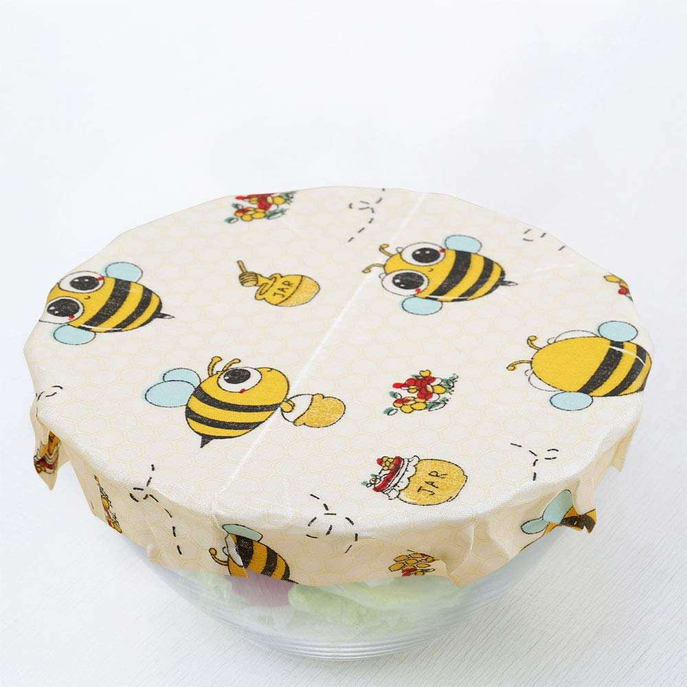 Eco Friendly Bees Wax Food Wrap Reusable Food Storage With Safe Food Contact and OEM Pattern