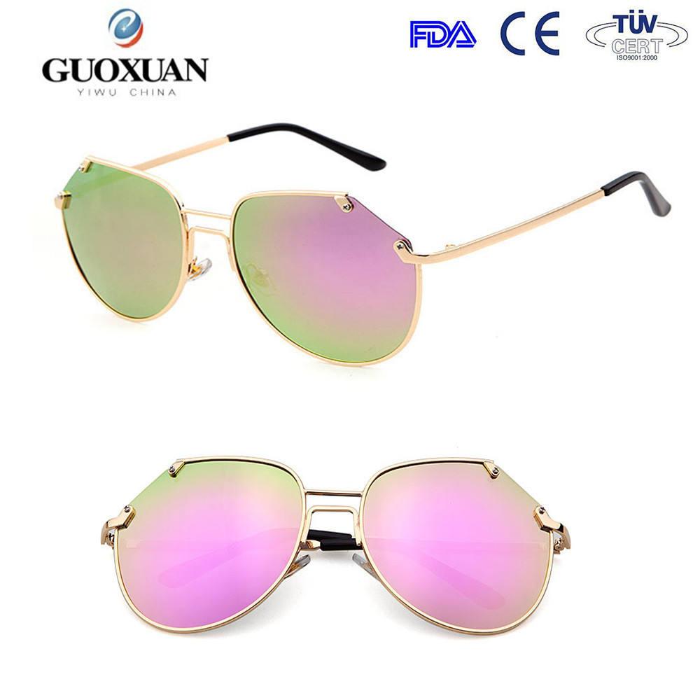 italya tasarım ce güneş gözlüğü kadın polarize havacı safari güneş gözlüğü