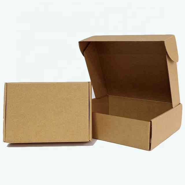 Printing Popular Pattern Packing Clothes Shipping Carton Mailing 3 Layer Corrugated paper packing gift Box
