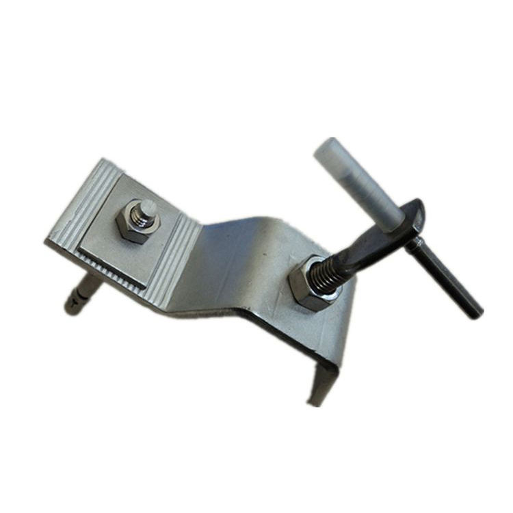 Custom wall cladding clamp stainless steel z bracket for stone cladding