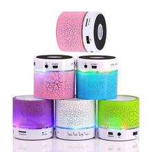A9 LED Bluetooth Mini Speakers Hands Free Portable Wireless Speaker With TF Card Mic USB Audio Music Player