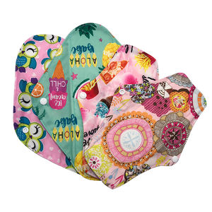 Pretty Pattern 180PCS Free shipping Washable Bamboo Charcoal sanitary pads