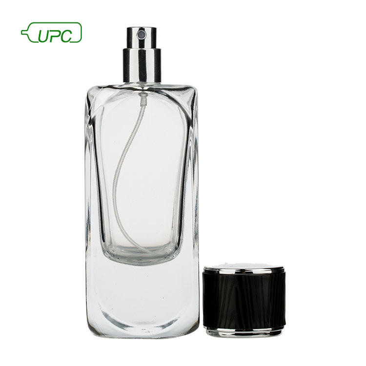 High end wholesale clear empty refill 30ml glass perfume atomizer spray bottle