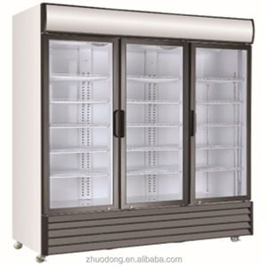 commercial convenience store used refrigerated supermarket showcase food / cold drink display refrigerator