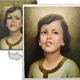 Photograph Hand Painted Custom Canvas Oil Painting Portrait