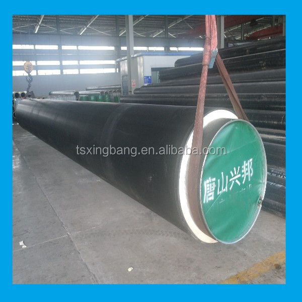 Pb Polyurethane Pipe Direct Buried Polyurethane Foam Insulated For Hot Water Insulated Pipe