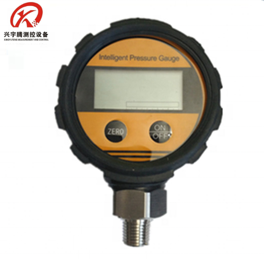 Battery powered Digital nitrogen pressure gauge with rubber cover QYB108