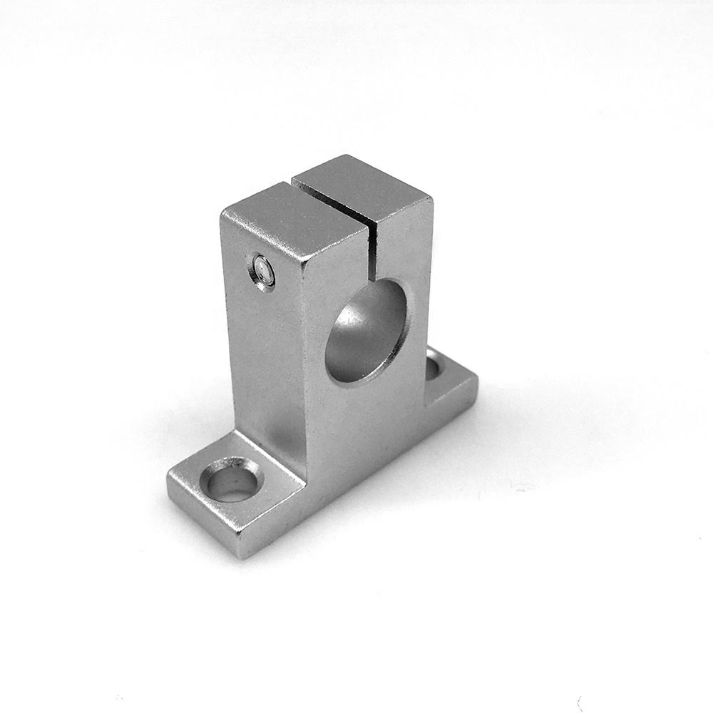Aluminum support SK12 SK13 linear motion ball slide unit