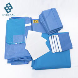 disposable nonwoven eo sterile medical surgical kits surgical urology drape pack