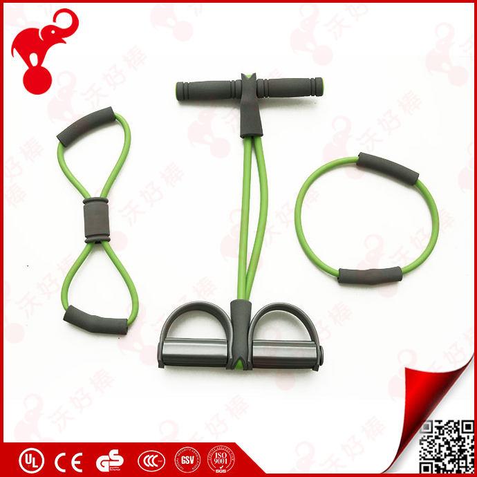 <span class=keywords><strong>Training</strong></span> 8 forma personalizada tubo banda de resistencia de látex de caucho natural cuerda de ejercicios