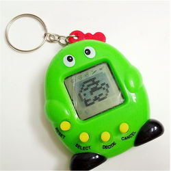 Wholesale Price Tamagotchi Digital Cartoon Electronic Pet keychain tamagochi