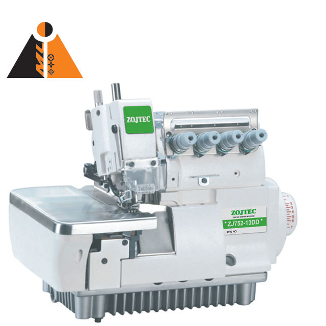 ZJ 752-13DD top quality direct drive high speed 4 thread serger sewing machine for garment factory