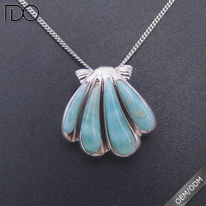 Custom design natural 라 리마 쉘 펜 던 트 custom 네팔 necklace jewelry