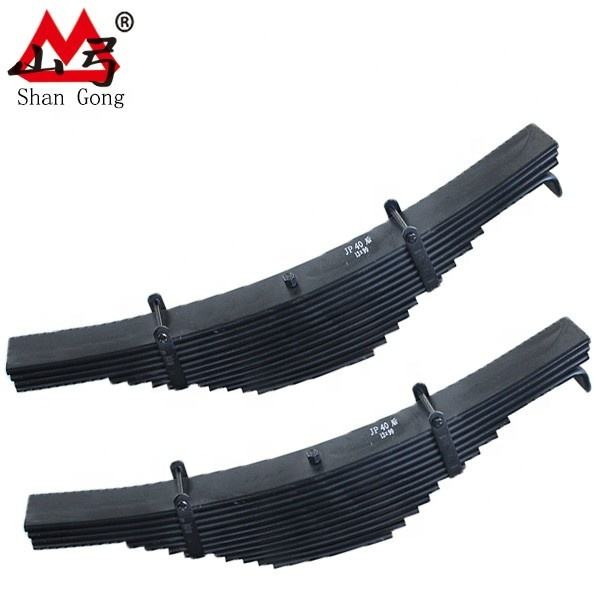 Auto Parts Double Shackles Rear Leaf Spring Fit for Hilux Vigo 2005-2012
