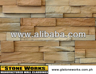 MANUFACTURED STONE WALL CLADDING - MOUNTAIN LEDGE Tuscany