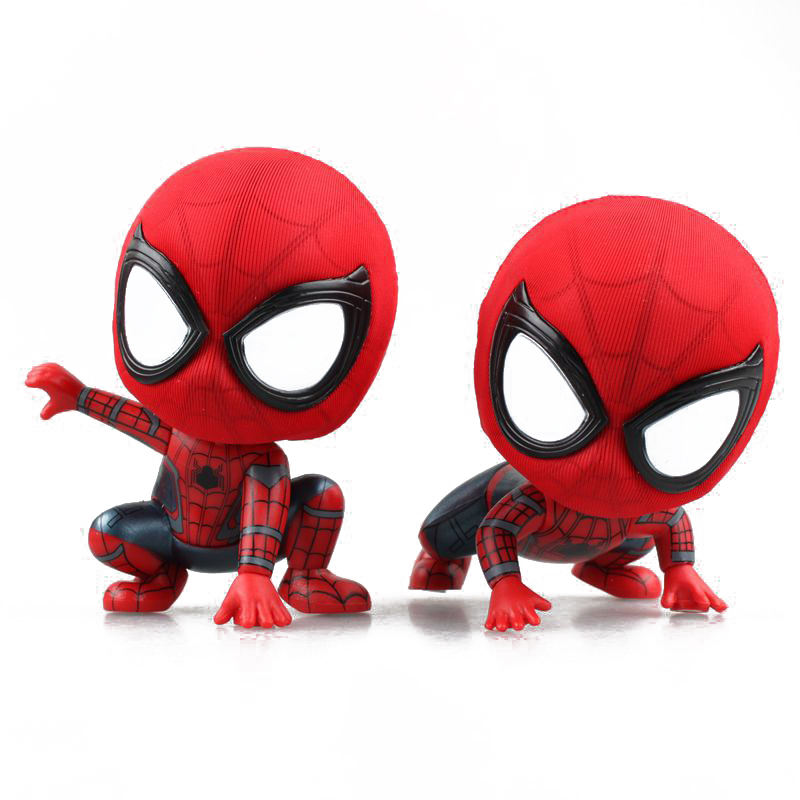 custom cheap resin personalized mar vel toy statue spiderman action figure