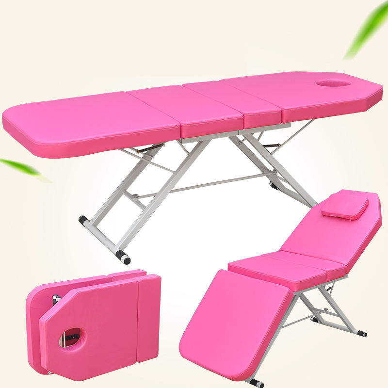 Beauty bed for massage,facial bed for sale,massage table pink