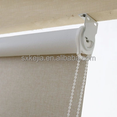 No MOQ 100% blackout printing jacquard roller blind fabric for european country